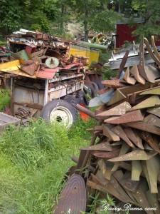 farm junk yard